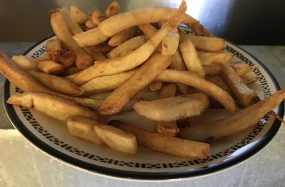 french fries, fresh cut fries