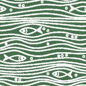 fish wave pattern